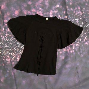 Tops - Amazing faux corset top